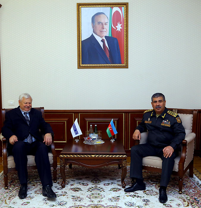 Azerbaijan, OSCE discuss Karabakh conflict settlement