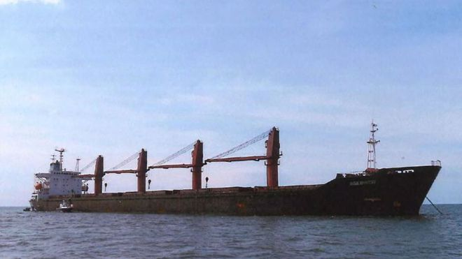 US seizes North Korean coal ship for violating sanctions