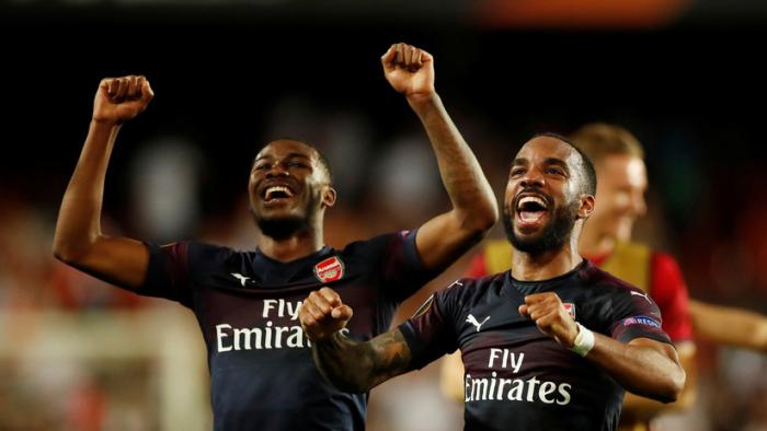 El Arsenal vence al Valencia por 2-4 y pasa a la final de la Liga Europa