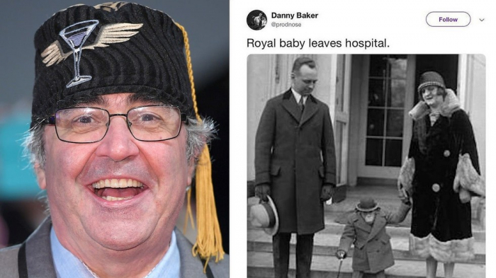 BBC DJ fired after picture of chimpanzee for Royal Baby