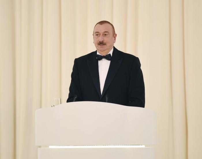 """""""Onların mübarizə üsulu şər, böhtan, iftiradır"""" - İlham Əliyev"""