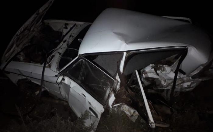 Kürdəmirdə qəza: Sürücü hadisə yerində öldü