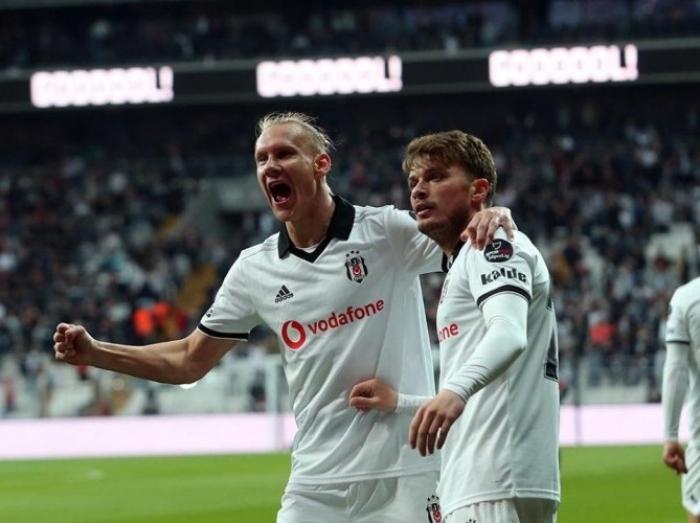 """""""Beşiktaş"""" öz meydanında qələbə qazanıb"""