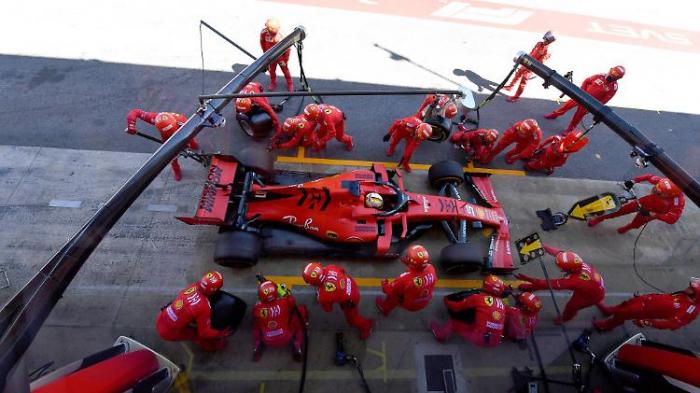 Ferrari ist ratlos, Mercedes stark wie nie