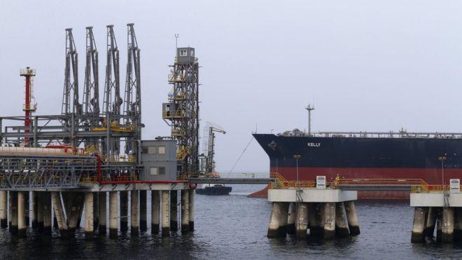 Two Saudi oil tankers