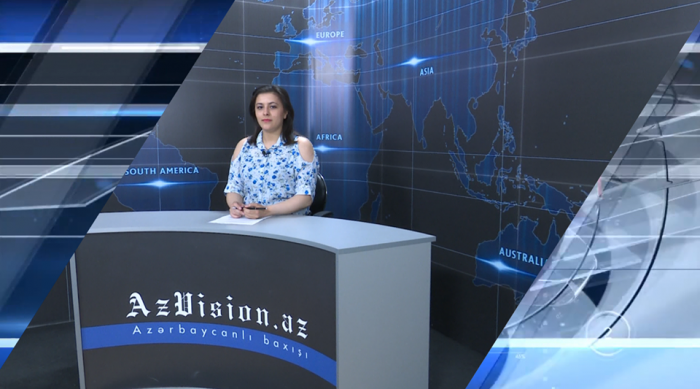 AzVision TV releases new edition of news in English for May 14 -   VIDEO