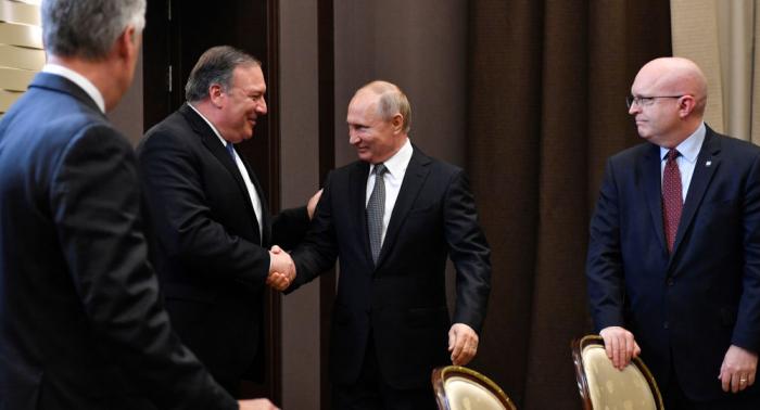 Treffen Putin - Pompeo: Normalisierung der Beziehungen zwischen Russland und den USA
