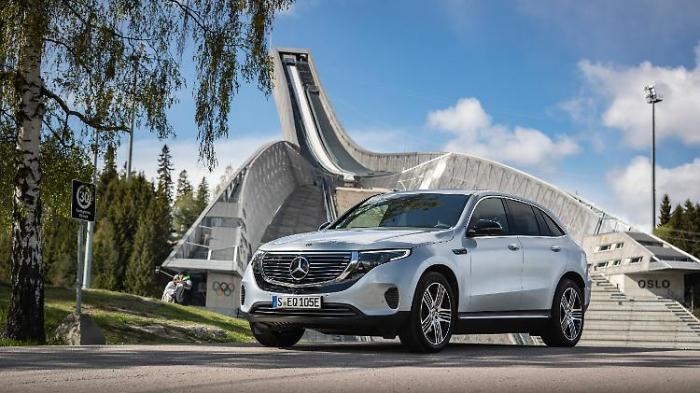 Mercedes EQC - so fährt das Elektro-SUV