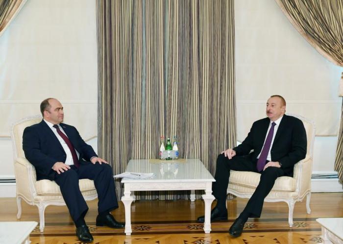 President Ilham Aliyev receives Belarus deputy PM-UPDATED