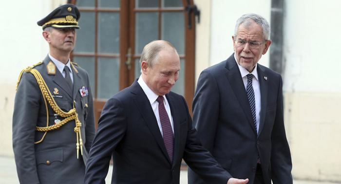 Im Vorfeld des Treffens mit Putin: Van der Bellen zeigt Verständnis für Russland