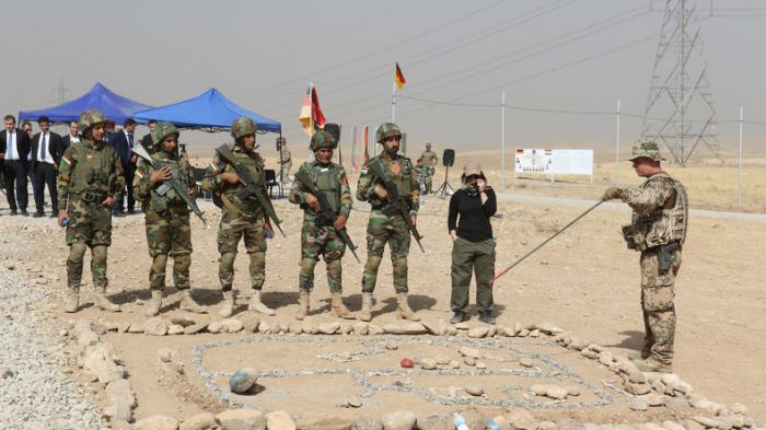Bundeswehr setzt Ausbildung im Irak wegen Spannungen aus