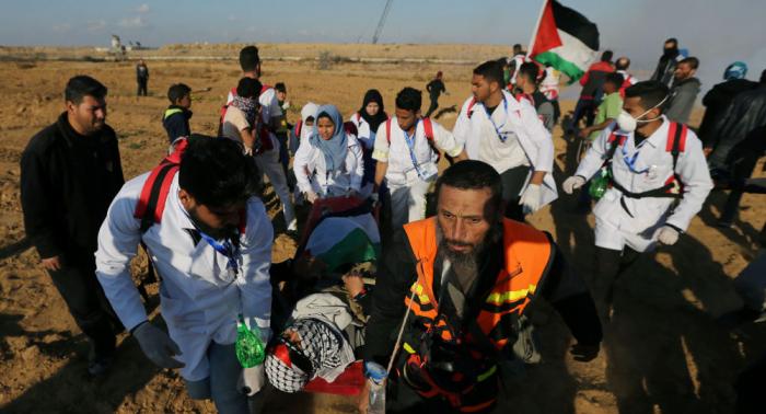 EN VIVO:  Palestinos protestan en Gaza en el 71 aniversario del Día de Al Nakba
