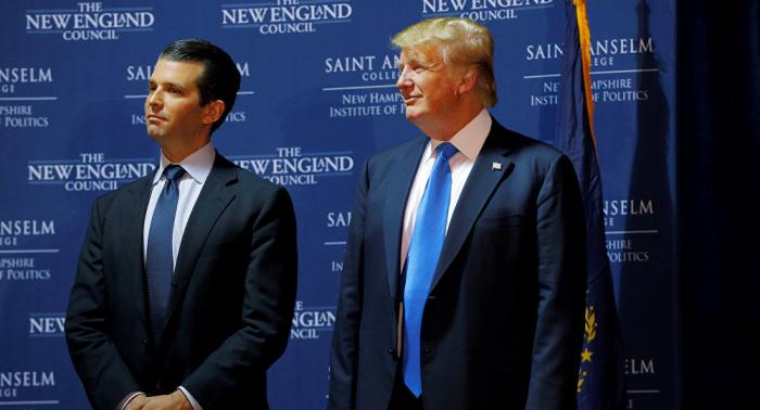 Russland-Ermittlungen: Trumps Sohn soll offenbar vor Senat aussagen