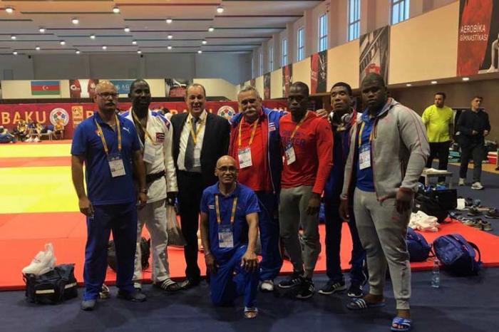 Cuba compite en Azerbaiyán en Grand Prix IBSA de judo