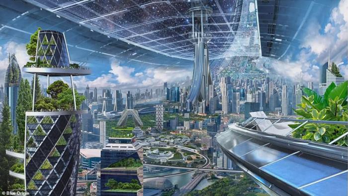 FOTOS, VIDEO:   Así serán las colonias espaciales que propone construir el dueño de Amazon