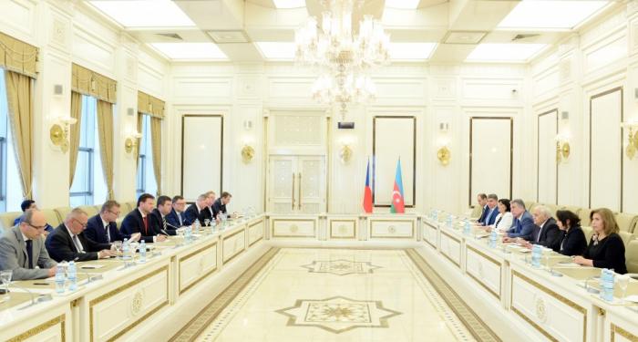 Les relations interparlementaires azerbaïdjano-tchèques au cœur des discussions à Bakou