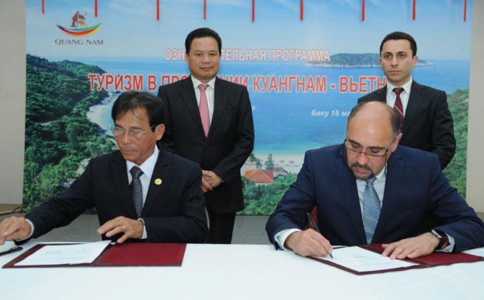 Azerbaiyán y Vietnam colaborarán en el sector turístico