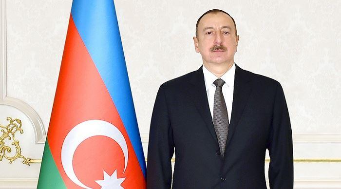 Presidente Ilham Aliyev felicita al rey Harald de Noruega