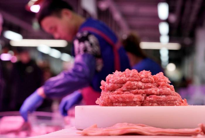Chinesische Händler stornieren Importe von US-Schweinefleisch