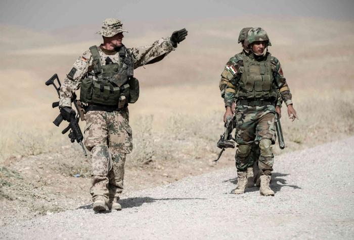 Bundeswehr nimmt Ausbildung von irakischem Militär wieder auf