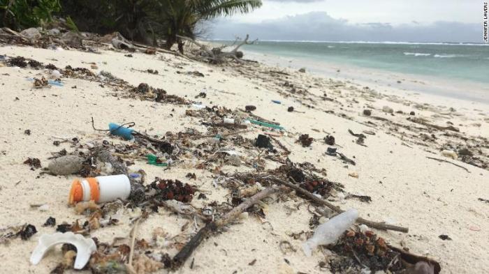 414 million pieces of plastic found on remote Australian islands: study