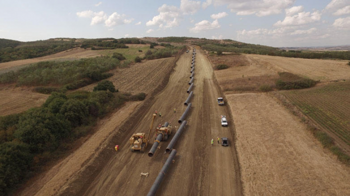 Over 87% of Trans Adriatic Pipeline complete