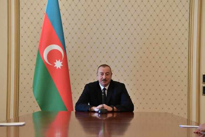 Las organizaciones internacionales no ejercen suficiente presión sobre Armenia-  Presidente Aliyev