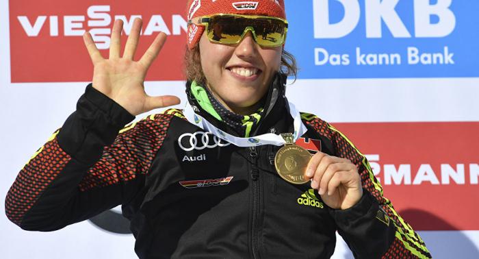Biathlon-Olympiasiegerin Dahlmeier verkündet Karriereende