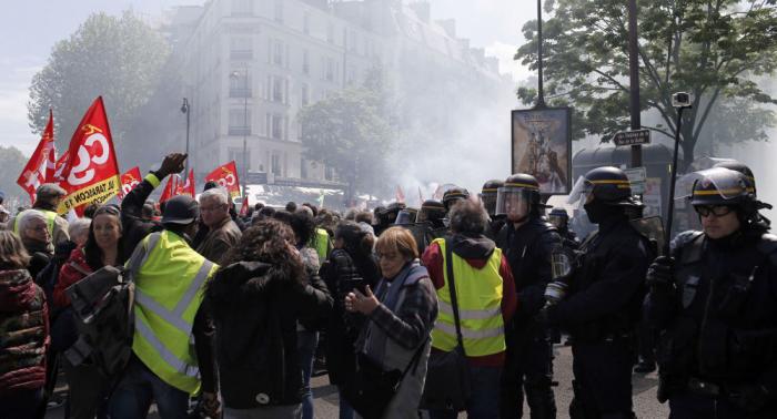 Neue Gelbwesten-Proteste in Paris