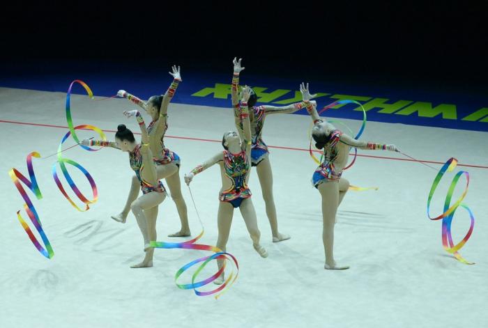 Gimnastlarımız 6-cı oldular