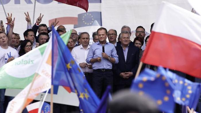 Tusk schwört Polen auf Europawahl ein