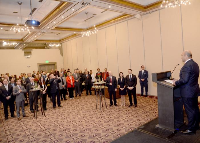 Recepción oficial en Chile con motivo del Día de la República de Azerbaiyán