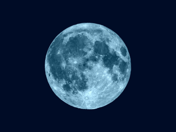 Rare blue moon will be last of the decade