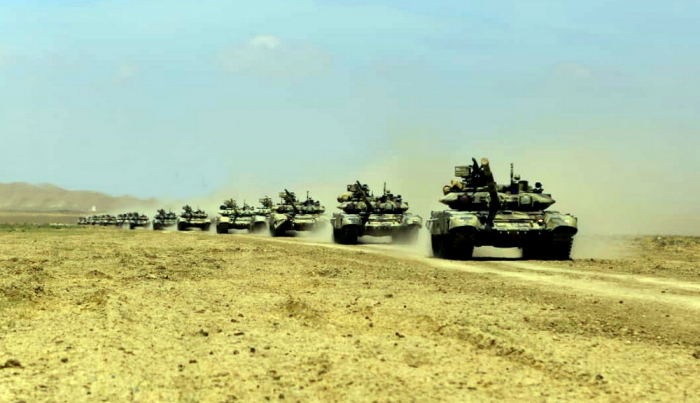 Azerbaijani army launches large-scale exercises - PHOTOS+VIDEO