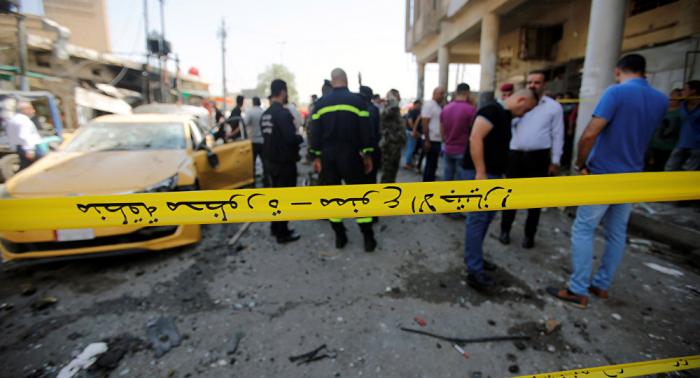 Reportan un bombardeo cerca de la Embajada de EEUU en Bagdad