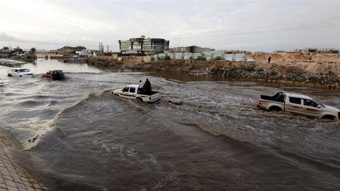 Heavy rain and flooding hit parts of the Arabian Peninsula