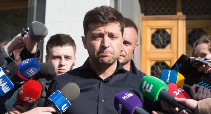 Neuer ukrainischer Präsident bittet USA um härtere Russland-Sanktionen