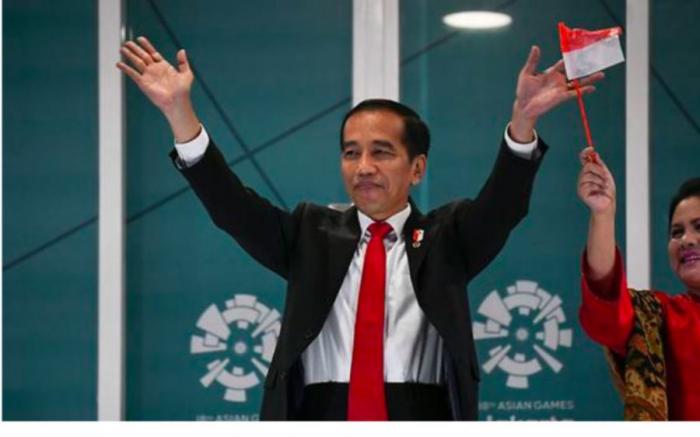Indonesia election: Joko Widodo re-elected as president