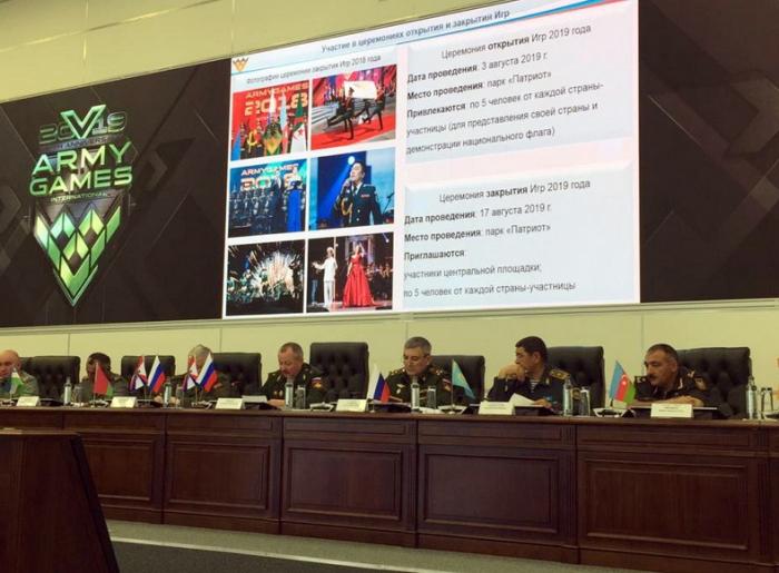 La delegación del Ministerio de Defensa de Azerbaiyán se encuentra en Moscú