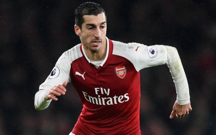 Mkhitaryan no viajará a la final de la Europa League con el Arsenal