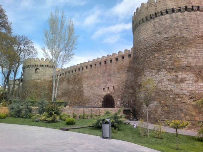 Muralla de la fortaleza de Bakú