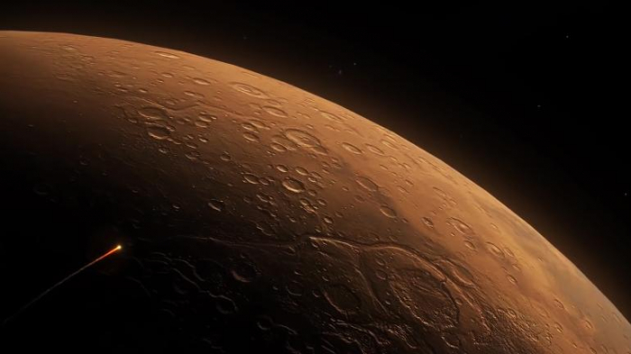 Massive collision with dwarf planet may explain asymmetric lunar surface: study