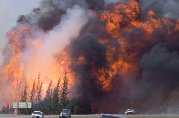 Canadian wildfires expected to worsen amid dry weather