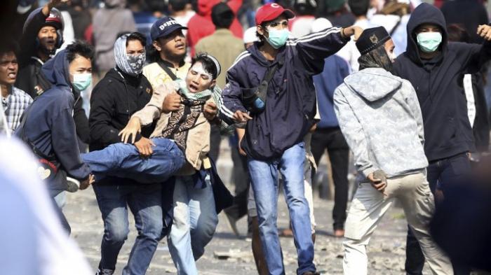 Schwere Unruhen nach Bekanntgabe des Wahlergebnisses