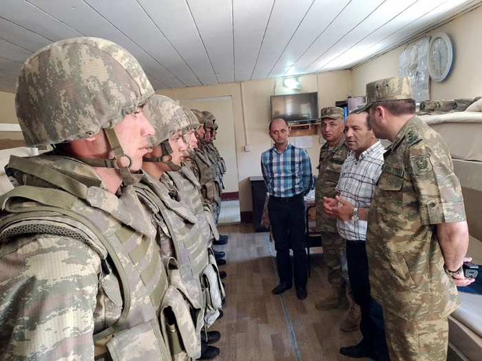 Reps of Ombudsman's Office visit military unit on frontline