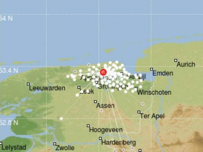 Dutch province hit by earthquake blamed on decades of gas extraction