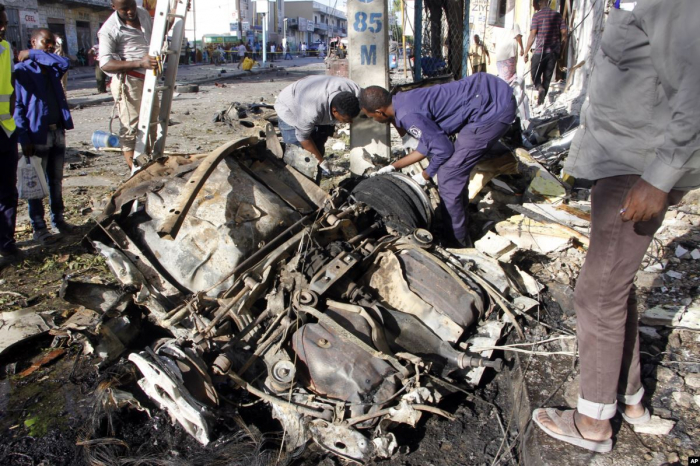 At least 4 killed, 12 others injured in Mogadishu car bombing