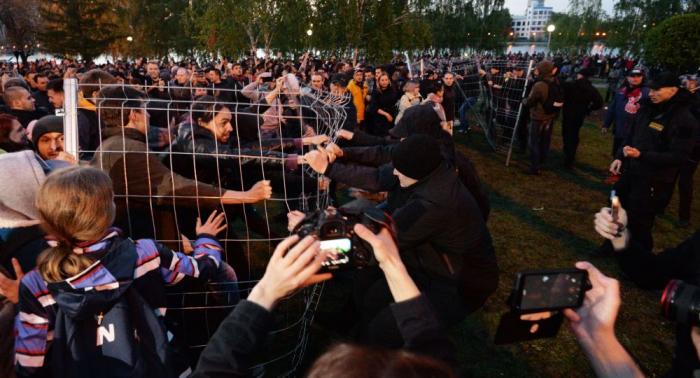 Kirchenstreit in Jekaterinburg: Erfolg für Protestler? Gouverneur lenkt ein