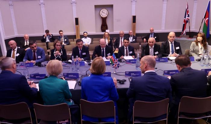 Aserbaidschanisch-Britisches Energieforum in London