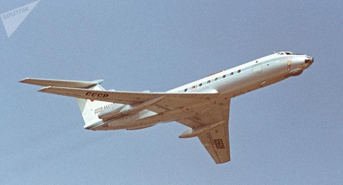 Rusia se despide del legendario avión de pasajeros Tu-134